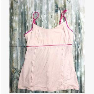 Lululemon• baby pink • tank